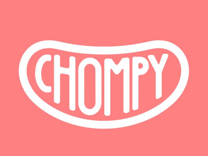 Chompy(チョンピー)ロゴ