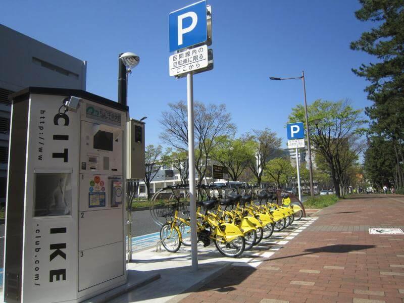 北九州でレンタル自転車に乗って稼ぐ!