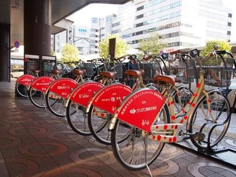 高崎市のレンタサイクル「高チャリ」は無料