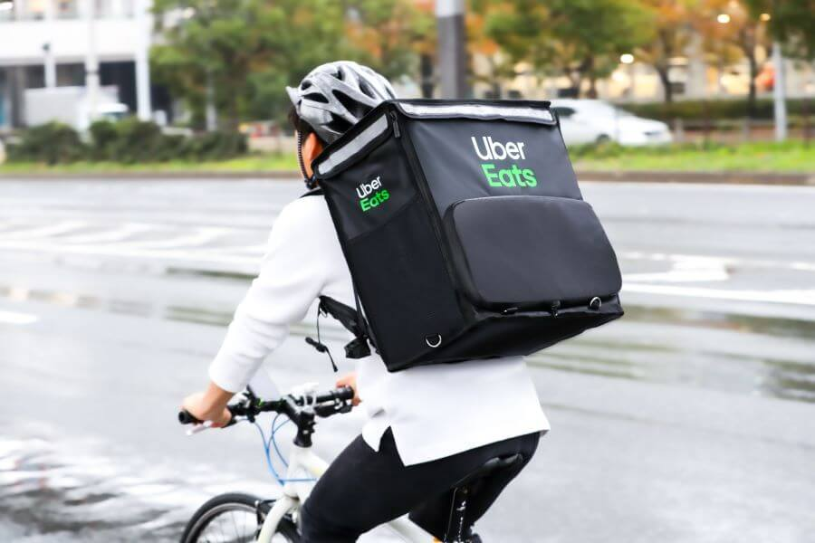 Uber Eats(ウーバーイーツ)配達バッグ