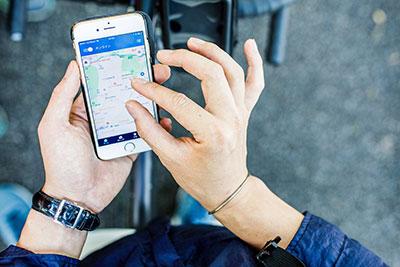 Uber Eats(ウーバーイーツ)スマートフォン