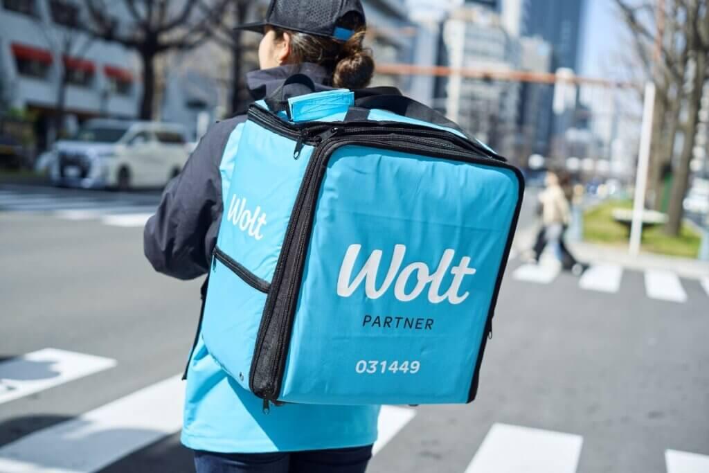 Wolt(ウォルト)の配達に使うバッグ